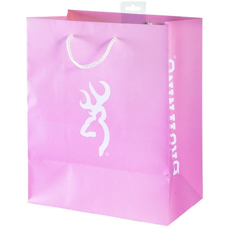Browning Large Pink Gift Bag - Back40Trading2