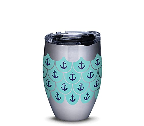 Tervis Stainless Steel Tumbler Anchors and Scallops Pattern