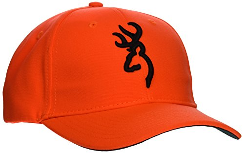 Browning Safety Cap with 3D Blaze, Semi-Fitted- back40trading2
