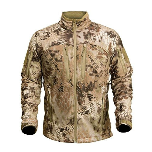 Kryptek Men's Waterproof Cadog Shield Jacket, Highlander, X-Large