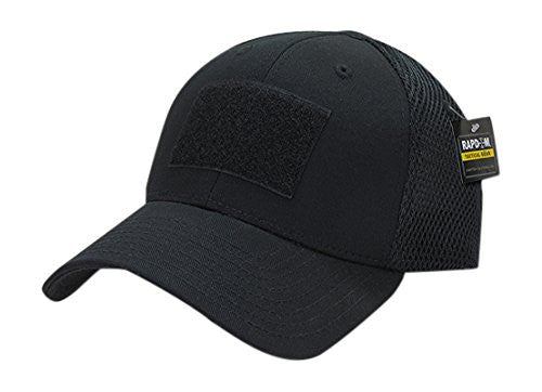 Rapid Dominance Tactical Tactical Air Mesh Flex Cap, Black- back40trading2