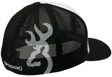 Browning Colstrip Hat, White, Flex Fit- Back40Trading2 - 2