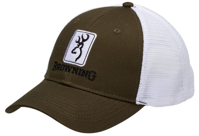 Browning Dry Creek Mesh Hat, Loden -back40trading2 - 1