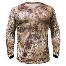 Kryptek Men's Hyperion T-Shirt Long Sleeve Polyester- Back40Trading2 - 2