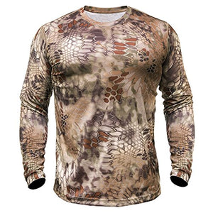 Kryptek Men's Hyperion T-Shirt Long Sleeve Polyester- Back40Trading2 - 4