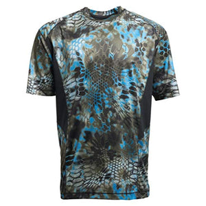 Kryptek Aura Short Sleeve Camo Hunting & Fishing Shirt (K-Ore Collection)