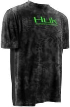 Huk Men's Kryptek Icon Short Sleeve Fishing Shirt, H1200024- back40trading2 - 2
