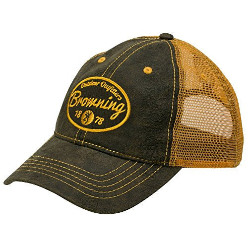 Browning Folsum Hat Ball Cap - Loden- Back40Trading2