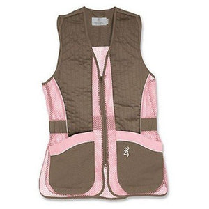 Browning Vest, Jr For Her Brown/Pink (30505488)