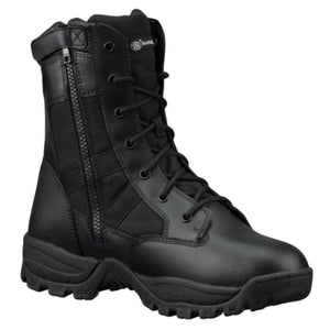 "Smith & Wesson Breach 2.0 Men's Tactical Side-Zip Boots - 9"" Black, 7.5 Regular"