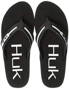 Huk Men's Flipster Flip Flop Sandal Fishing Boating