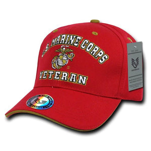 Rapid Dominance Marine Veterans' Cap, Red