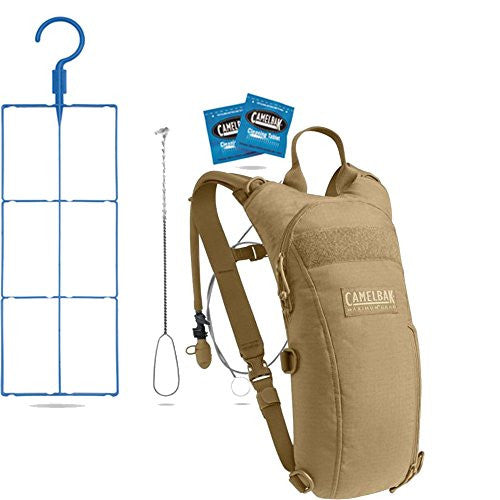 Camelbak Thermalbak 3 L Hydration Pack with Cleaning Kit Bundle, Coyote- Back40Trading2