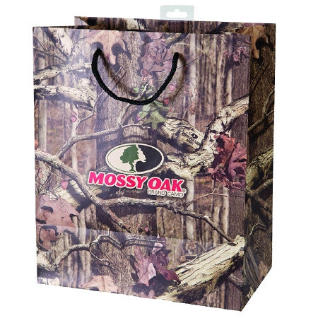 Mossy Oak Large Camo Gift Bag - Back40Trading2