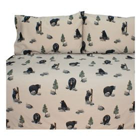 The Bears Sheet Set  Twin - Back40Trading2