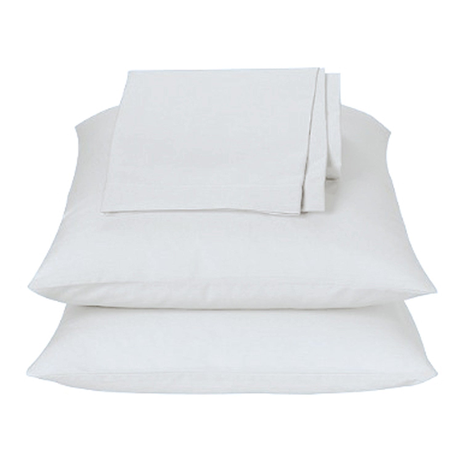 White Waterbed Sheets Super Twin - Back40Trading2