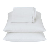 White Waterbed Sheets Queen - Back40Trading2
