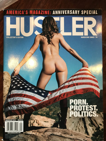 Autographed Hustler '16 anniversary issue