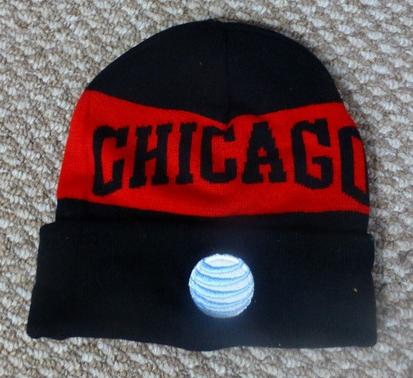 Chicago Bulls Knit Hat Beanie 2014-2015
