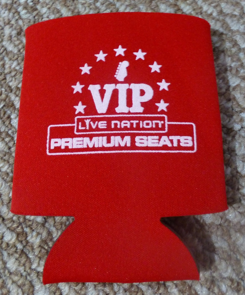 LiveNation Coozie Beverage Sleeve VIP Premium Seats