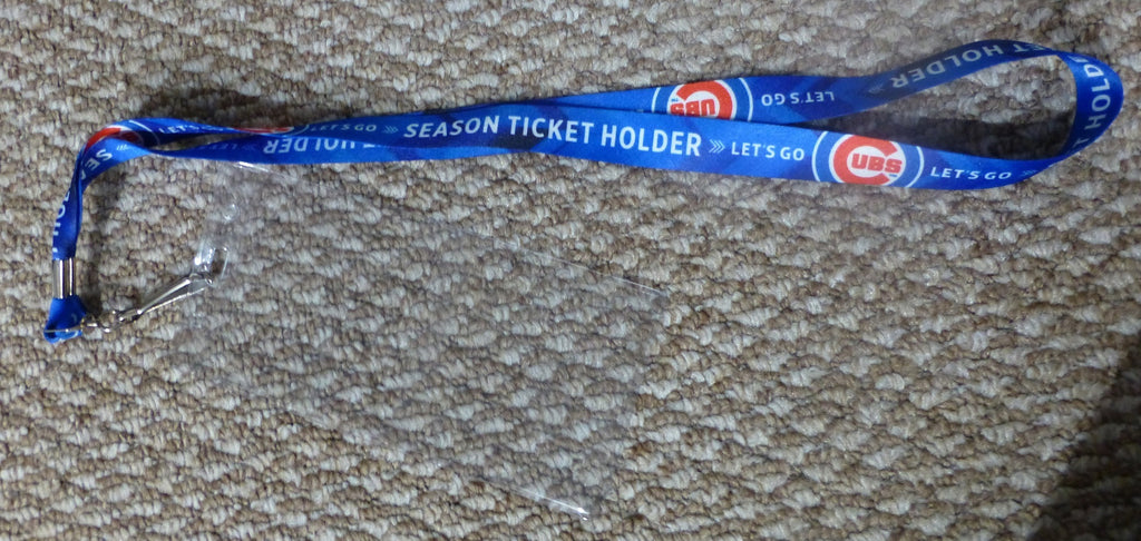 Chicago Cubs 2015 Season Ticket Holder Lanyard