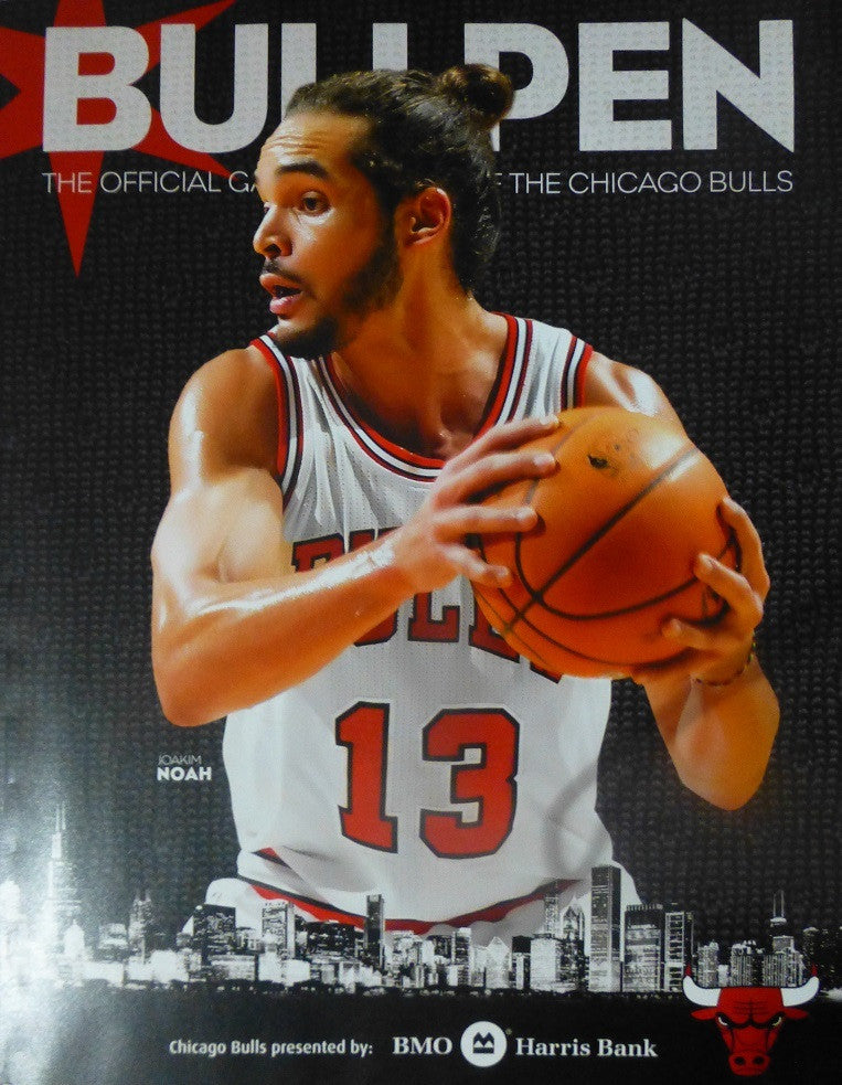 Chicago Bulls 2013-2014 Bullpen Program Guide Joakim Noah