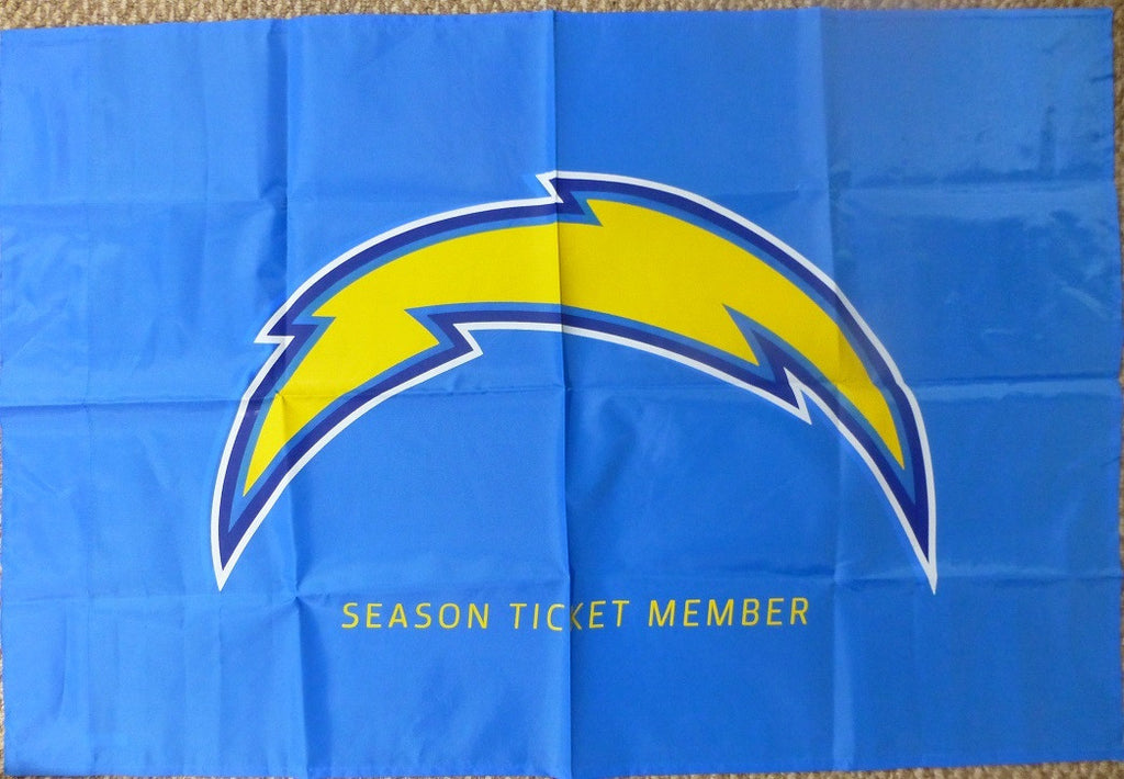 San Diego Chargers 2015 Season Ticket Holder Flag Banner