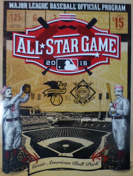 2015 MLB All Star Game Official Program