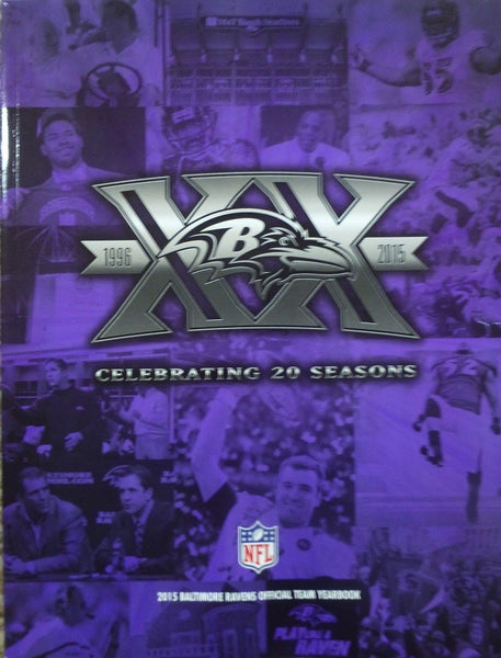 Baltimore Ravens 2015 Yearbook