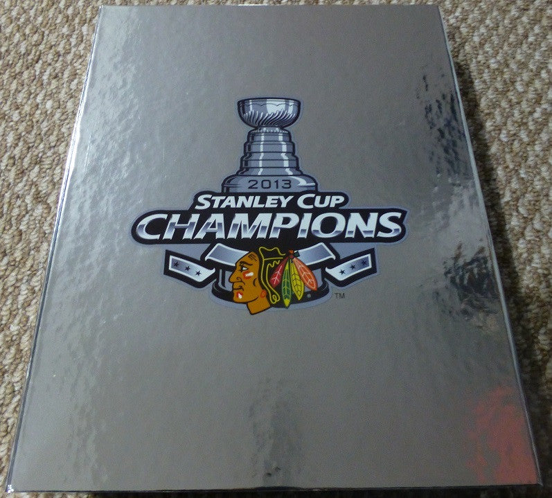 Chicago Blackhawks 2013 Stanley Cup Champs One Goal II