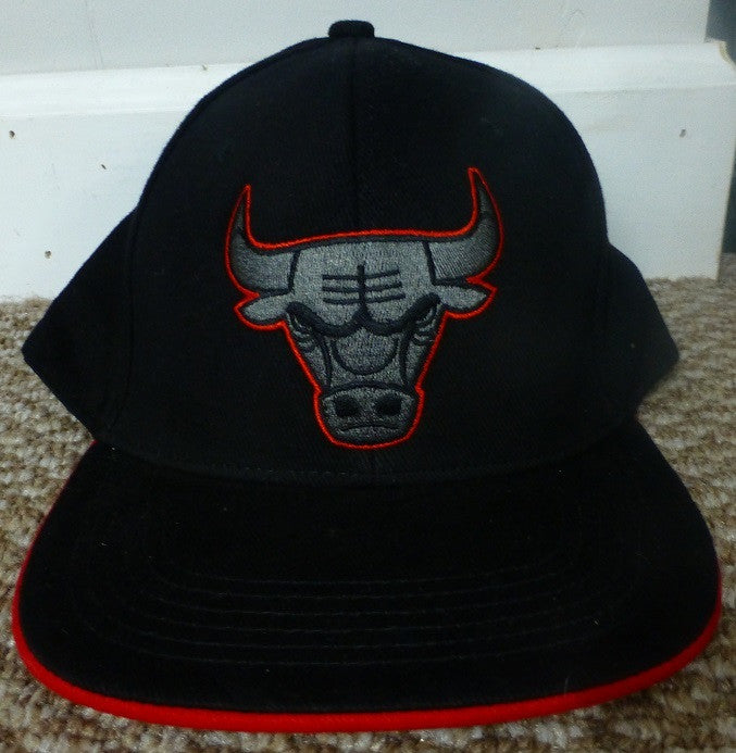 Chicago Bulls Baseball Cap 2013-2014 Black and Red