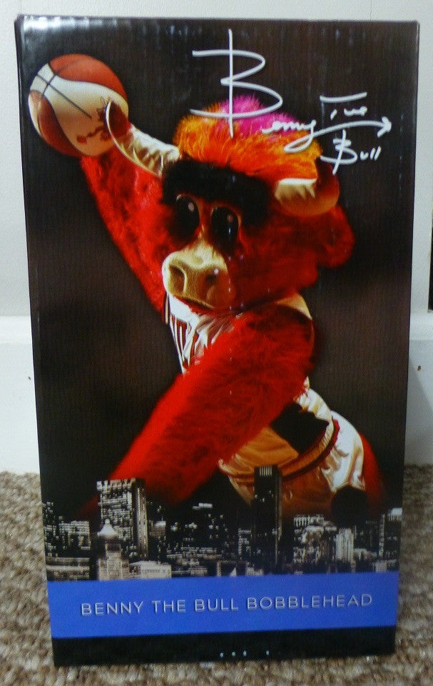 Chicago Bulls Benny the Bull Bobblehead 2013-2014