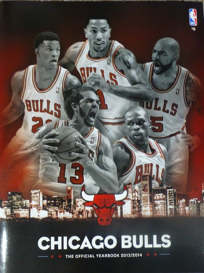 Chicago Bulls 2013-2014 Official Yearbook
