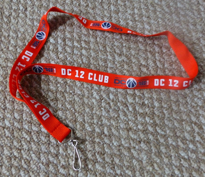 Washington Wizards Season Ticket Holder Lanyard