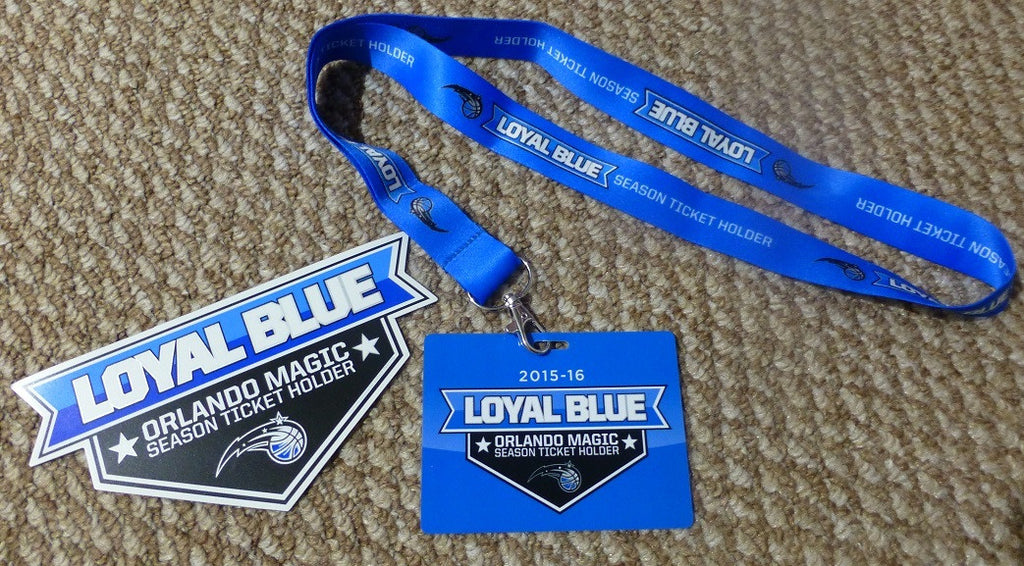 Orlando Magic Gift Set - Lanyard and Magnet