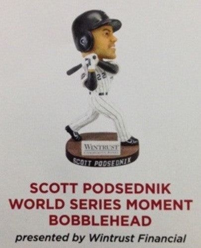 Chicago White Sox Scott Podsednik World Series Bobblehead 2015 SGA