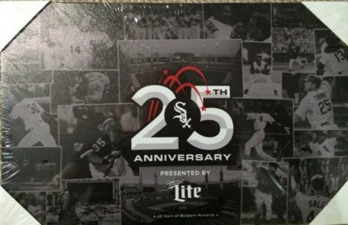 Chicago White Sox 25th Anniversary Commemorative Canvas 2016 STH