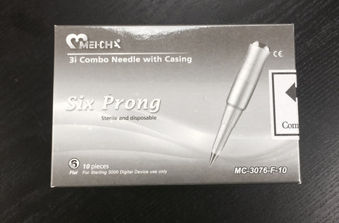 NEEDLES FOR ISTAR (6) SIX PRONG 10 PCS