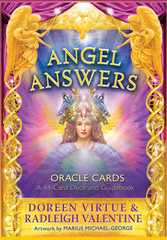 Oracle Card Deck - Angel Answers ~ Doreen Virtue & Radleigh Valentine