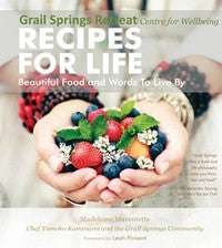 Book - Recipes for Life: Beautiful Food & Words to Live By ~ Madeleine Marentette
