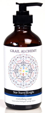 Grail Alchemy ~ Star Starry Knight ~ Everything Soap ~ 500 ml