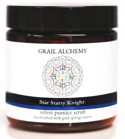 Grail Alchemy ~ Star Starry Knight ~ Velvet Pumice Scrub ~ 120 ml