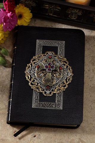 Limited Edition Compact Multi Jeweled Choice of KJV or NKJV