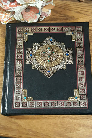 NAB Jeweled Catholic Family Bible-Black