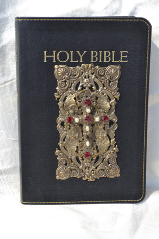 NAB Ruby Crystal Catholic Holy Bible-Black