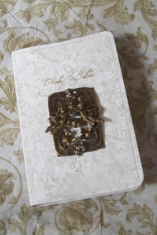 CSB Sweet Victorian Cherubs Bride's Bible RETIRED