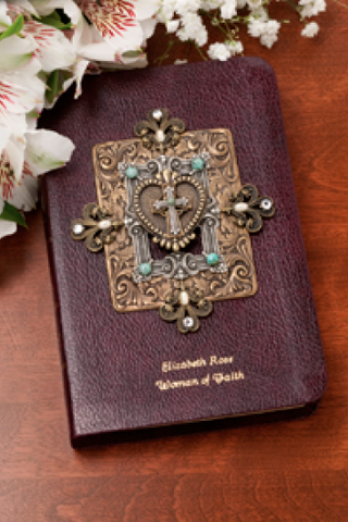 KJV Limited Edition Woman of Faith Jeweled Compact Bible