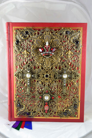 Roman Catholic Jeweled Missal Bible