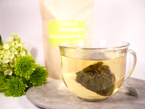 2018 Organic High Mountain Oolong Full Leaf Sachet