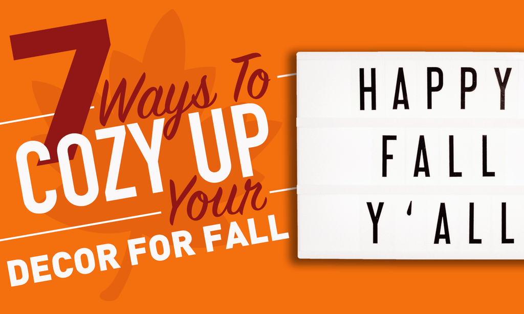 7 Ways To Cozy Up Your Decor For Fall